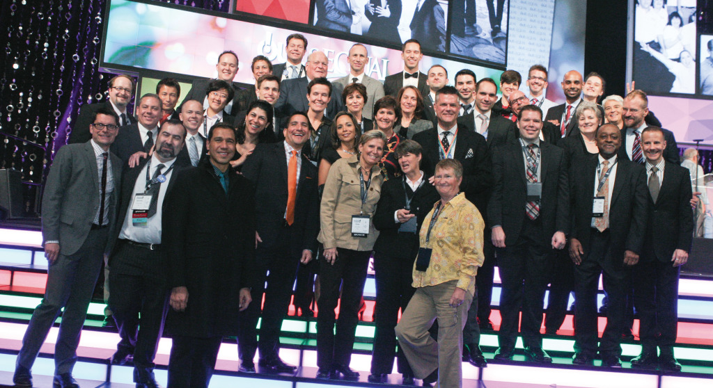The IBM team at the 2013 Out & Equal Workplace Summit