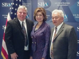 TailsSpin's Jeff Manley and Jusak Yang Bernhard with Maria Contreras-Sweet of SBA.jpg
